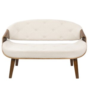 Jamie Tufted Settee by Lan..