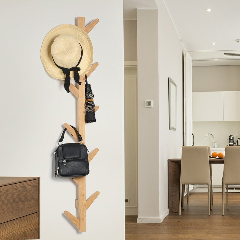 Millwood Pines Marilyn TreeShaped 40 Hooks Wall Mounted Coat Rack Gorgeous Coat Rack For Wall