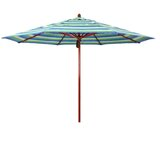 Sierra Series Patio 11 Market Sunbrella Umbrella
