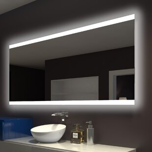 Best Price Backlit Bathroom / Vanity Wall Mirror By Paris Mirror
