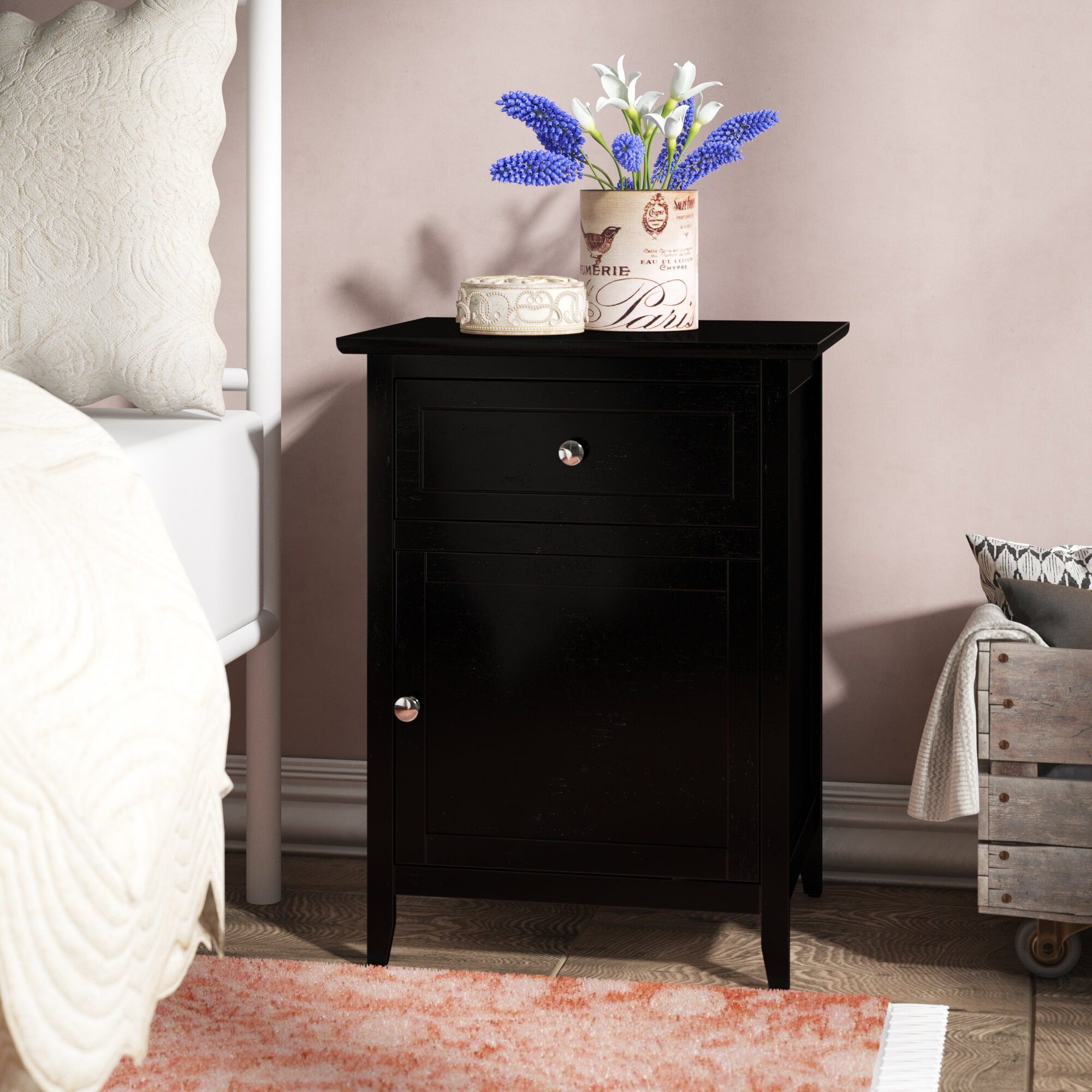 Black Cottage Country Nightstands You Ll Love In 2021 Wayfair