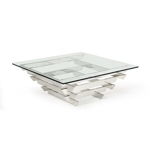 Clower Square Coffee Table by Orren Ellis
