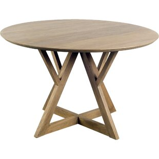 Badgett Solid Wood Dining Table by Foundry Select Best #1