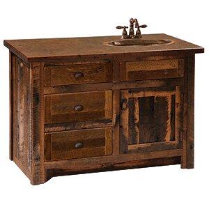 Reclaimed Barnwood 36 Bathroom Vanity Base Only