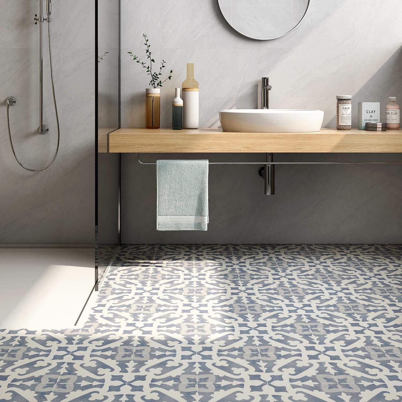 Ivy Hill Tile Anabella 9 X 9 Porcelain Spanish Wall Floor Tile Reviews Wayfair