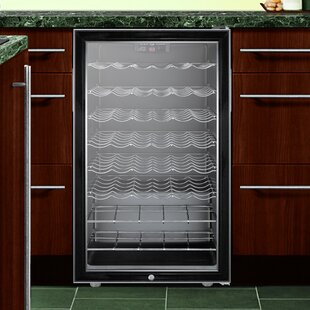 Summit 20-inch 40 Bottle Single Zone Freestanding Wine Cooler by Summit Appliance