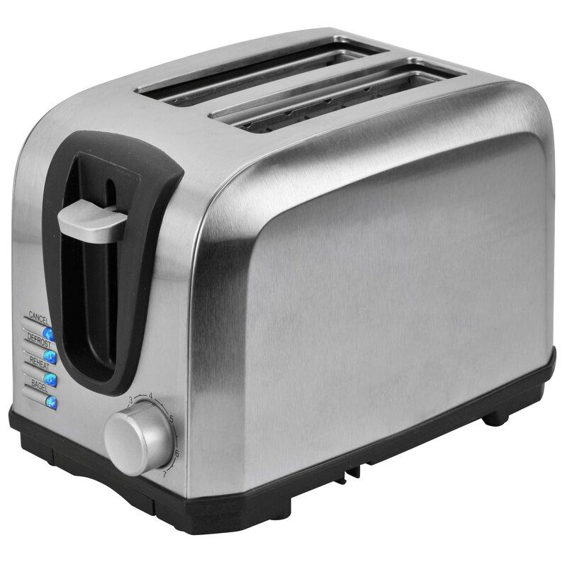Kalorik 2 Slice Toaster & Reviews