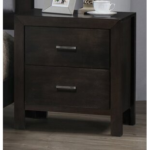 Vanderburg 2 Drawer Nightstand by Latitude Run