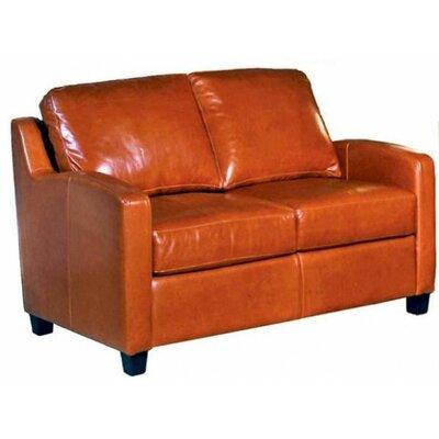 Chelsea Deco Loveseat Omnia Leather