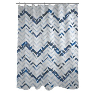 Reika Zig Zag Single Shower Curtain