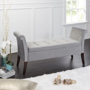 Neilson Upholstered Storage Bench by Charlton Home