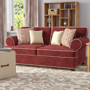 Beasley Loveseat by Three Posts