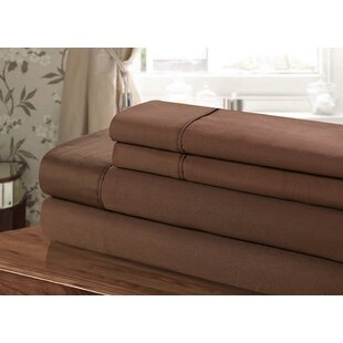 300 Thread Count 100% Egyptian-Quality Cotton Sheet Set by Chic Home New