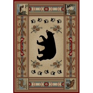 Hearthside Woodlands Bear Area Rug