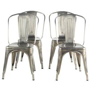 Riker Metal Dining Chair (Set of 4) Brayden Studio