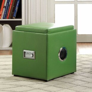 Gagner Cube Ottoman by Ebern Designs