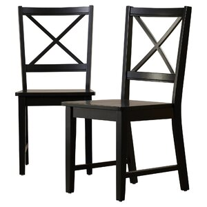Sally Cross Back Side Chair (Set of 2)
