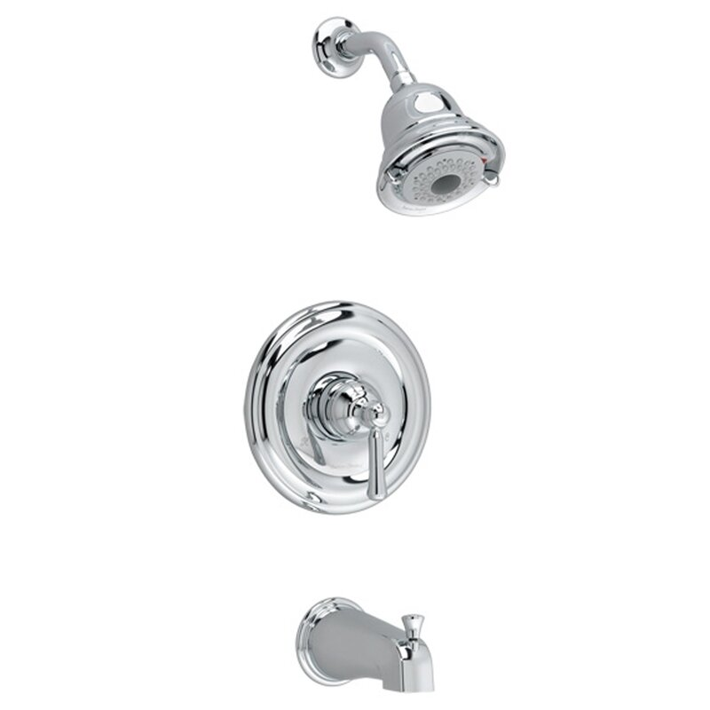 Bath And Shower Faucets american standard portsmouth flowise dual bath/shower faucet trim