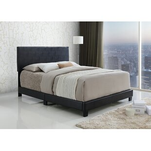 Sroka PU Upholstered Panel Bed