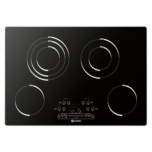 30 Electric Cooktop with 4 Burners By Verona