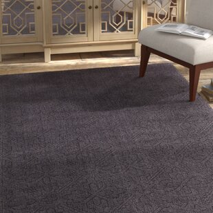 Affordable Estella Charcoal Area Rug By Bloomsbury Market