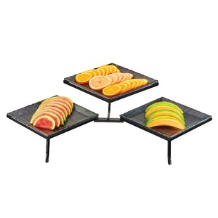 Courts 2 Tier Mtl Display Melamine Tray