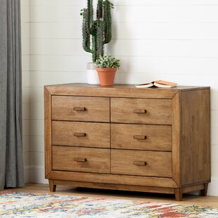 Reviews Lubello 6 Drawer Double Dresser by South Shore Reviews (2019) & Buyer's Guide