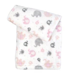 Claiborne Ultra-Soft Microfiber Plush Baby Blanket ByZoomie Kids