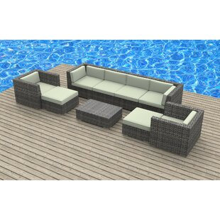 Karla 9 Piece Sectional Set with Cushions