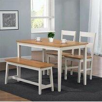 Oak Dining Table Sets You Ll Love Wayfair Co Uk