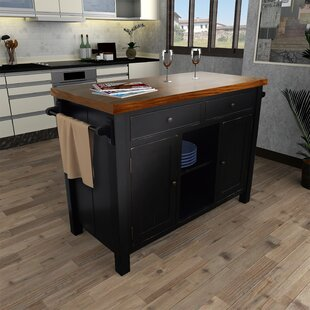 Hearn Kitchen Island Gracie Oaks