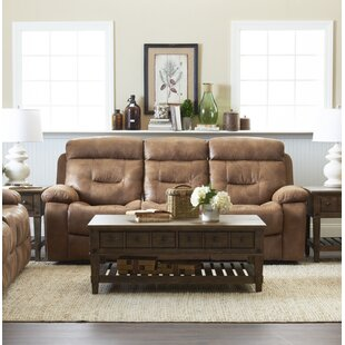 Order Russel Reclining Sofa by Charlton Home Reviews (2019) & Buyer's Guide