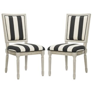 Affordable Rosemary French Brasserie Upholstered Dining Chair (Set of 2) by One Allium Way Reviews (2019) & Buyer's Guide