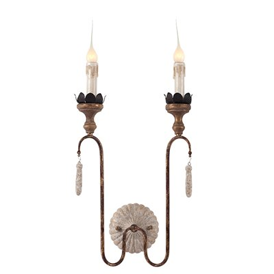 Joni 2-Light Candle Wall Light