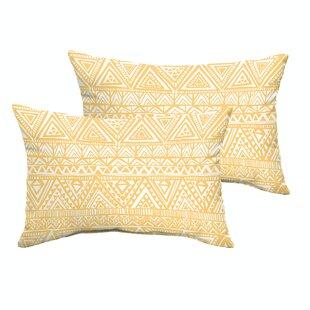 Diorio Indoor/Outdoor Throw Pillow (Set of 2)