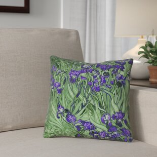 Morley Irises Pillow Cover