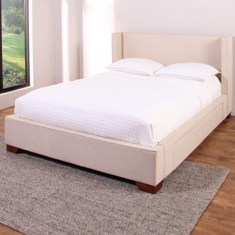 Wayde Upholstered Storage Platform Bed