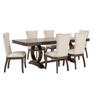 Jericho 7 Piece Extendable Dining Set Gracie Oaks