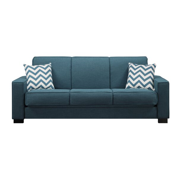 Turquoise Couch   Wayfair