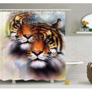 Animal Wildlife Shower Curtain Set