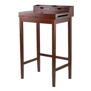 Brighton Secretary Desk With Hutch by Winsome New Design
