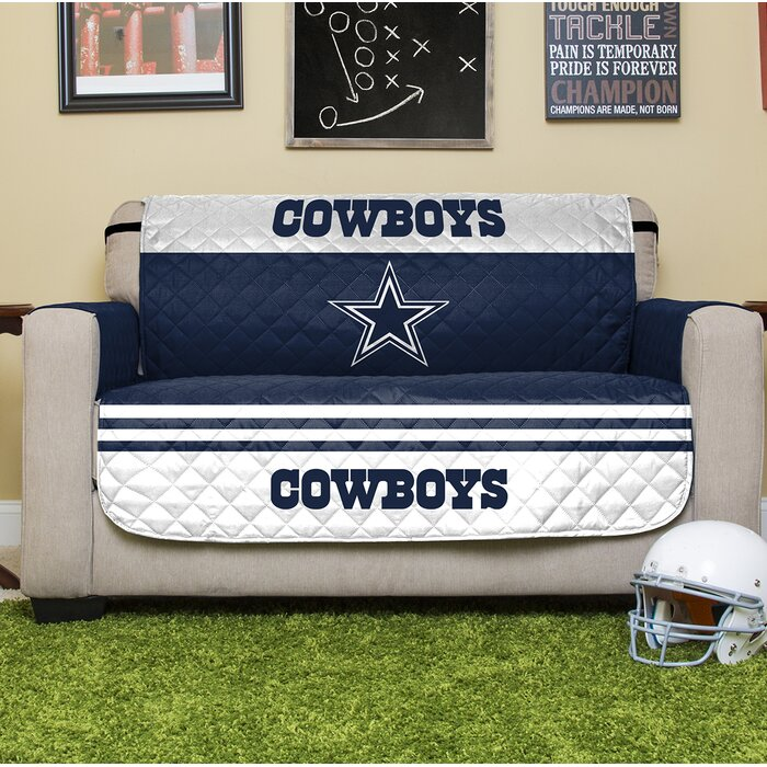 Admirable Nfl Loveseat Slipcover Caraccident5 Cool Chair Designs And Ideas Caraccident5Info