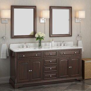 Luton 72 Double Bathroom Vanity Set by Lanza