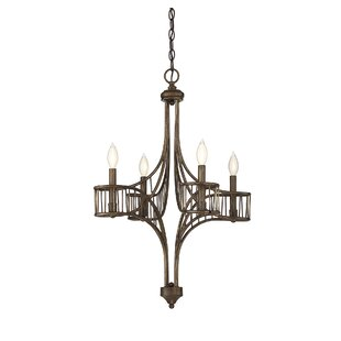 Mindaugas 4-Light Candle Style Chandelier