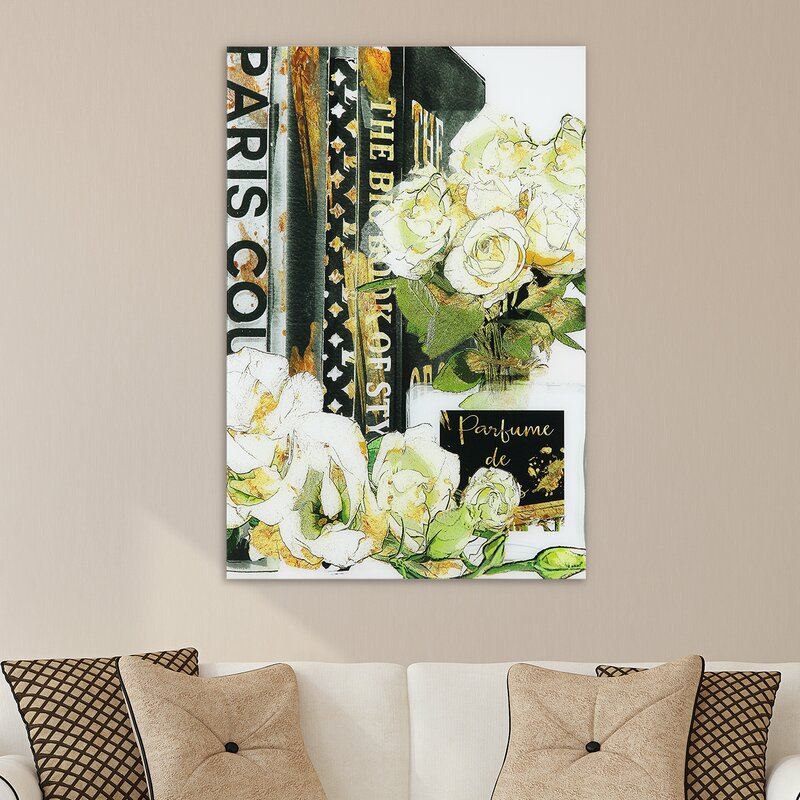 'Big Book of Style' Print on Glass