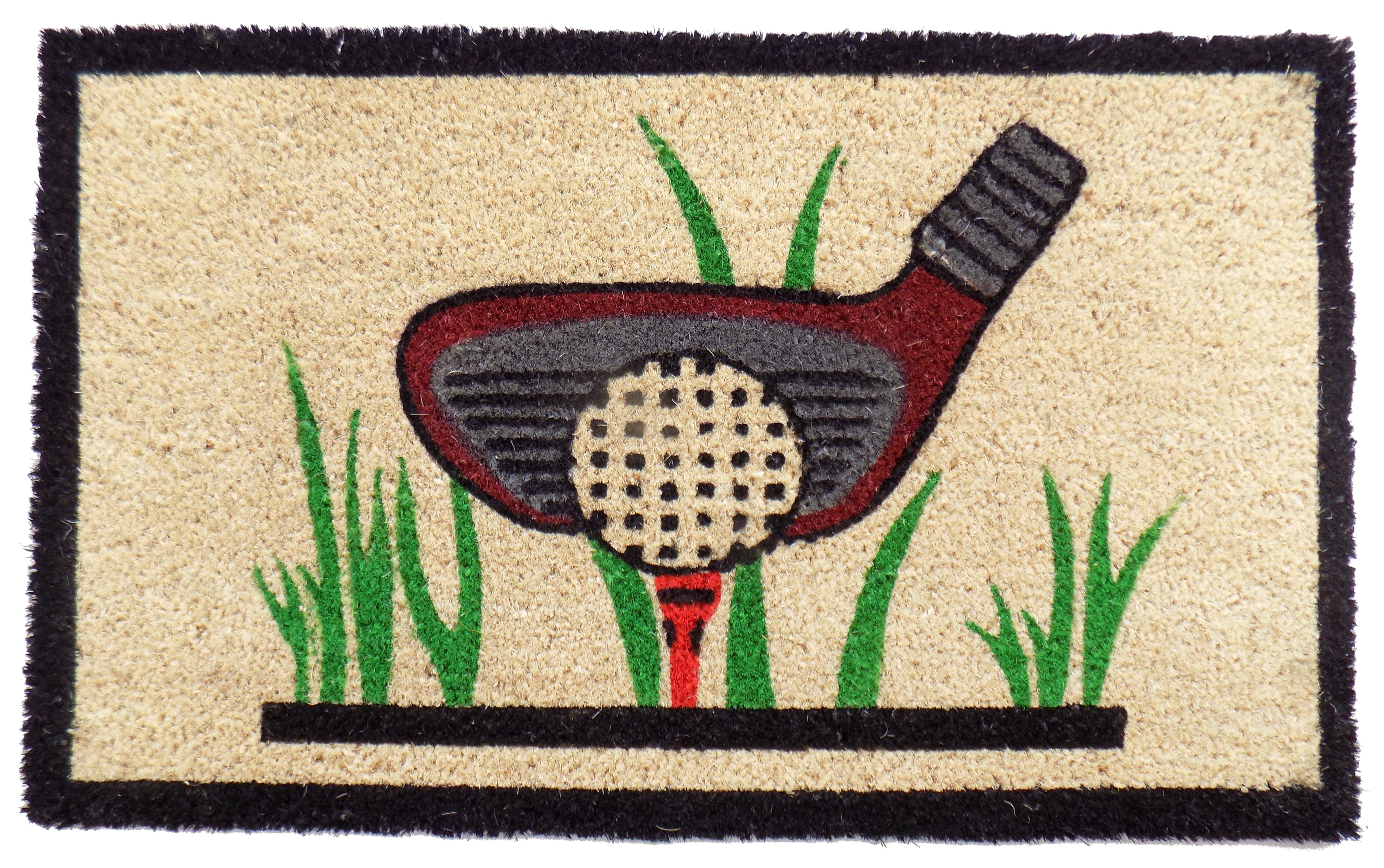 Genial Imports Decor Phillip Golf Doormat U0026 Reviews | Wayfair