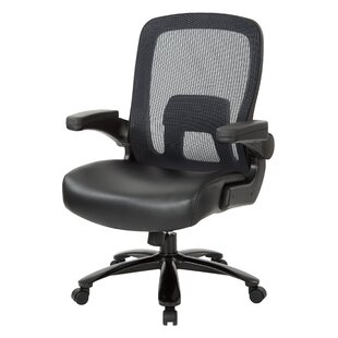 Affordable Inlet Deluxe High-Back Mesh Executive Chair by Latitude Run