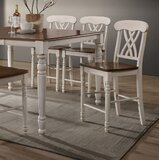 Cale Solid Wood 24 Counter Stool (Set of 2) by August Grove®