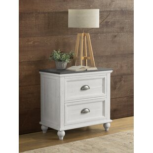 Risner 2 Drawer Nightstand by Gracie Oaks