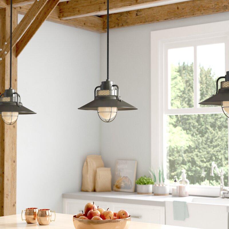 Andover mills fitzhugh 1 light glass mini pendant reviews wayfair fitzhugh 1 light glass mini pendant audiocablefo